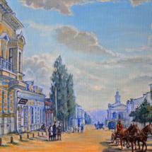 Пейзаж Старый Рыльск,50х35,холст,масло,2015 г. ц.6000 р.