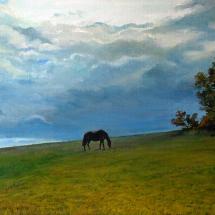 Пейзаж Тишина 65х45, холст,масло,2013 г. ц.15000 р.